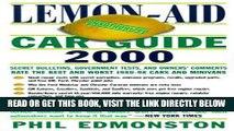 [READ] EBOOK Lemon-Aid Car Guide (Lemon-Aid: Suvs, Vans,   Trucks) BEST COLLECTION