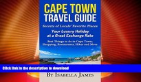 FAVORITE BOOK  Cape Town Guide: Secrets of Locals  Favorite Places.  Your Luxury Holiday at a