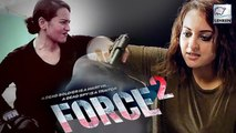 Sonakshi Sinha's Real Action Stunt | Force 2 | Action Stunt