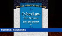 Books to Read  CyberLaw: Text and Cases  Best Seller Books Best Seller