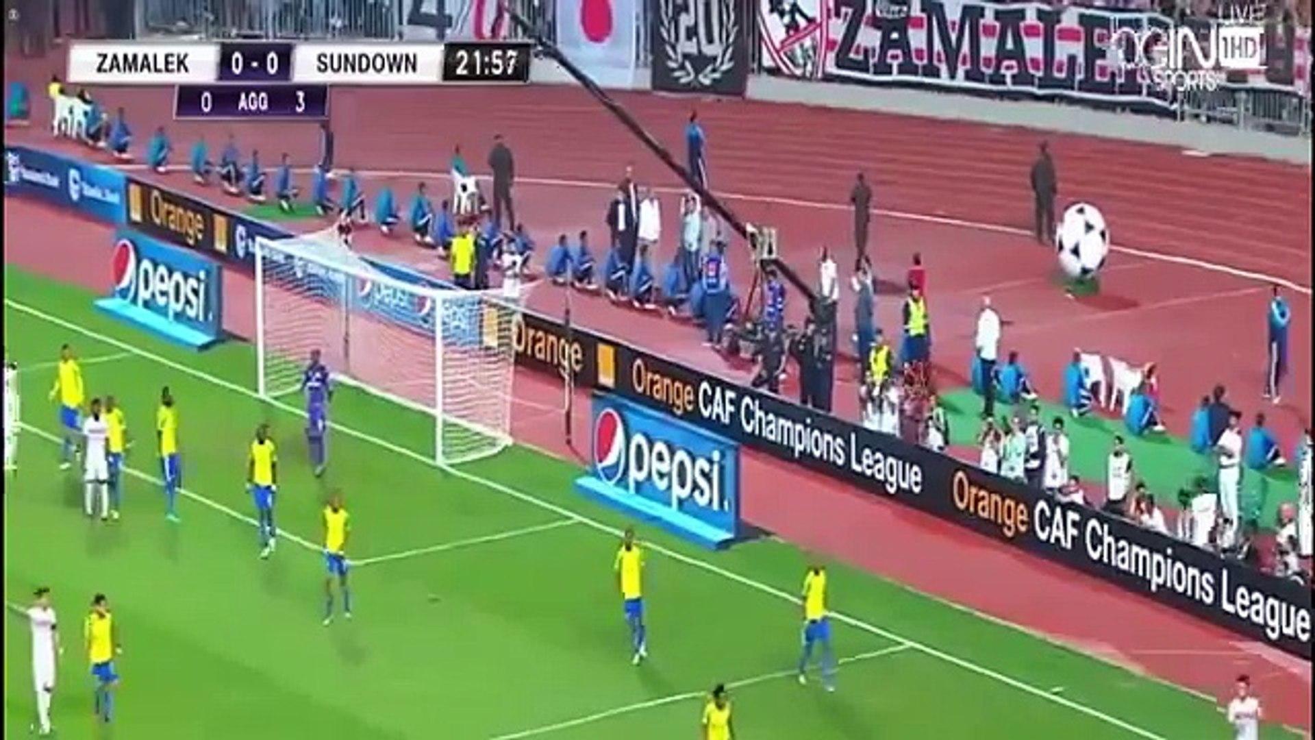 اهداف مباراة الزمالك وصن داونز 1 0 نهائي افريقيا فيديو Dailymotion