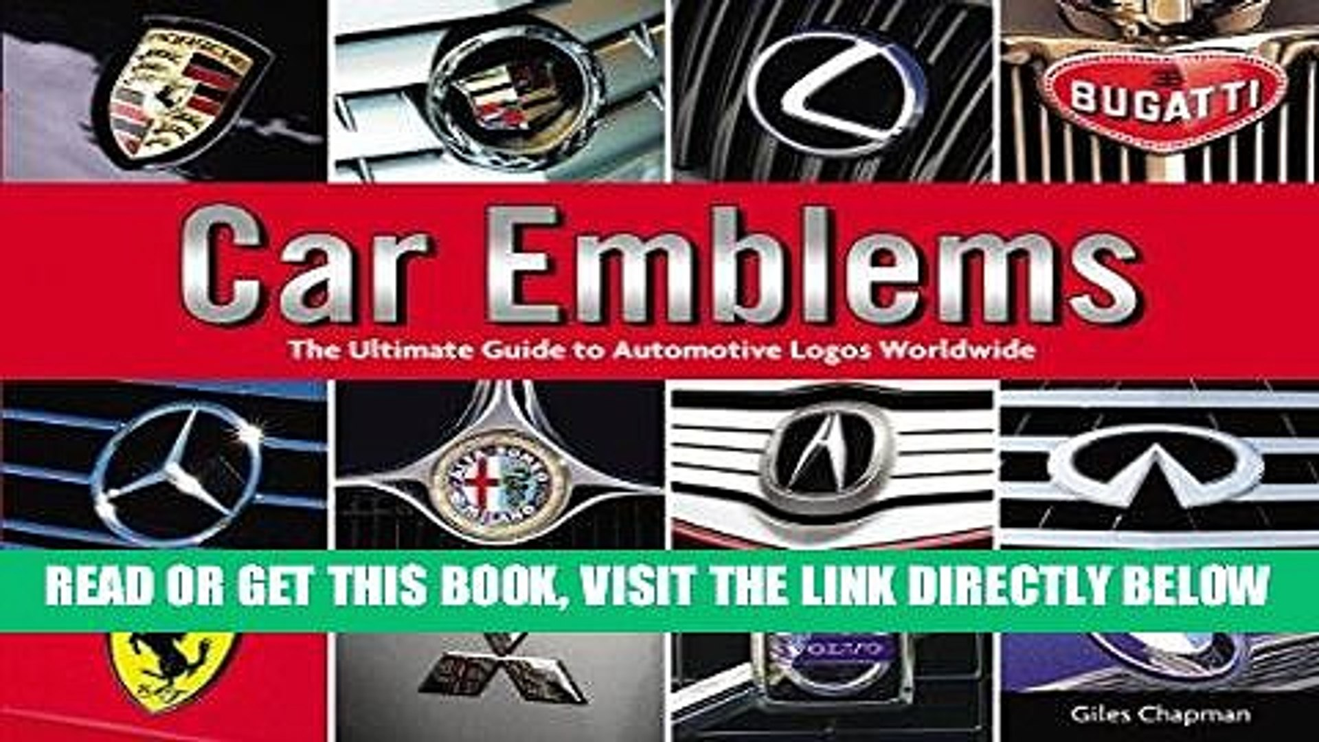 [FREE] EBOOK Car Emblems: The Ultimate Guide to Automotive Logos Worldwide  ONLINE COLLECTION