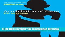 [PDF] Annihilation of Caste: The Annotated Critical Edition Popular Colection