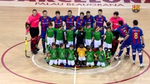 [HIGHLIGHTS] HOQUEI PATINS (OK Liga): FC Barcelona Lassa – Alcobendas (7-3)