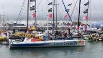 Arrivée faceOcean | faceOcean arrival / Vendée Globe 2016