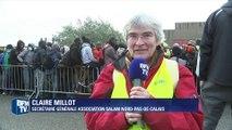 """Évacuation de la """"Jungle"""" de Calais: """"Ça fait plaisir de voir des visages souriants"""""""