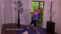Full Body Full Length Fat Burning Workout   Total Body Toned 25 Minute Home Exercise With Dumbbells