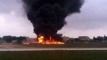 Un avion s'écrase à Malte et fait 5 morts