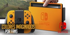 Nintendo Switch: Colores imaginados por fans