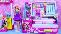 NEW Barbie CASH REGISTER Toy My Blinging Toy Register Shopping Spree & Fashems Surprise Toys