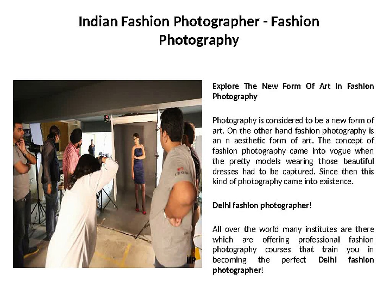 Fashion Photographer   Fashion Photography