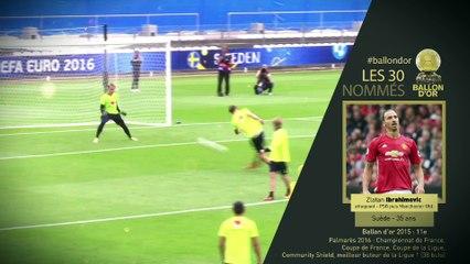 Les 30 nommés Ballon d'Or France Football - 3/6