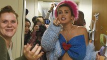 Miley Cyrus Hits The Campaign Trail Goes 'Dorm to Dorm' for Hillary Clinton -- Watch!