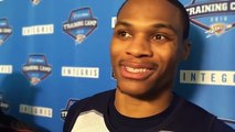 """Russell Westbrook Calls Kevin Durant's Insults """"Cute"""""""