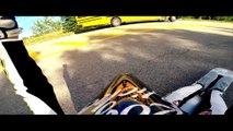 100km/h sur planche à roulettes