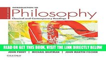 [READ] EBOOK Introduction to Philosophy: Classical and Contemporary Readings ONLINE COLLECTION