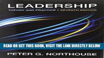 [READ] EBOOK Leadership: Theory and Practice, 7th Edition ONLINE COLLECTION