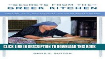 [PDF] Secrets from the Greek Kitchen: Cooking, Skill, and Everyday Life on an Aegean Island