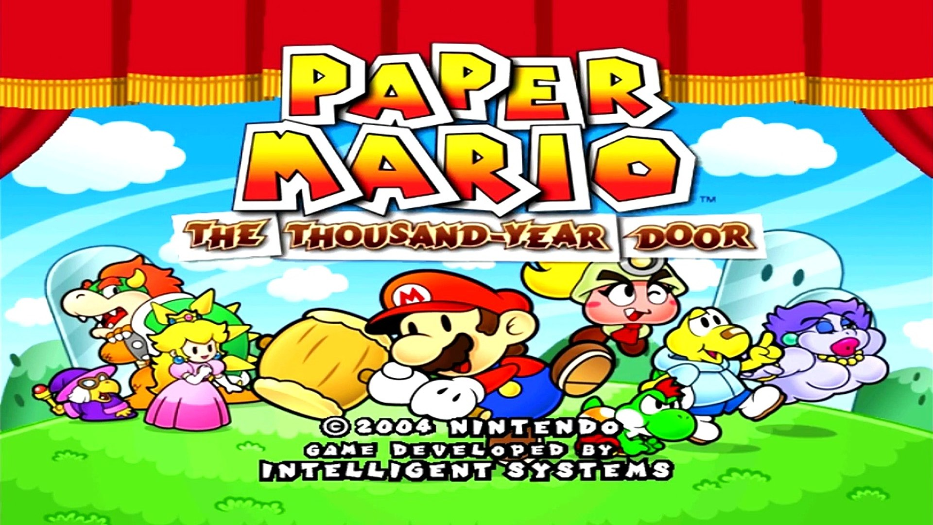 Lets Play Paper Mario The Thousand Year Door Part 1 Enter