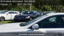 2014 Infiniti Q50 Hybrid 4dr Sedan RWD Hybrid Sport for sale