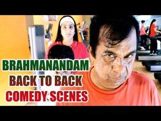 Brahmanandam Back To Back Comedy Scenes || Non Stop Comedy Scenes || Vol 4