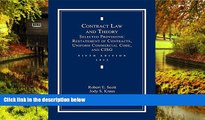 Must Have  Contract Law and Theory: Selected Provisions: Restatement of Contracts and Uniform