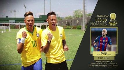 Les 30 nommés Ballon d'Or France Football - 5/6