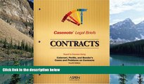 Books to Read  Contracts, Keyed to Calamari, Perillo,   Bender (Casenote Legal Briefs)  Full