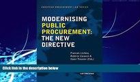 Big Deals  Modernising Public Procurement: The New Directive (European Procurement Law)  Best