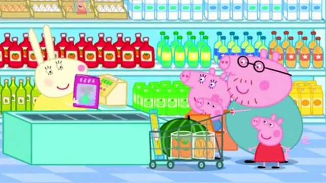 Peppa Pig Shopping. Peppa Pig Chloes Puppet Show Cartoons. Compilation full episode