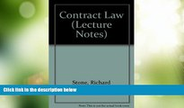 Big Deals  Contract Law (Lecture Notes)  Best Seller Books Best Seller
