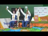 W1 Mixed Team Victory Ceremony | Rio 2016 Paralympics