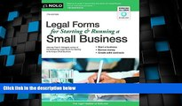 Big Deals  Legal Forms for Starting   Running a Small Business  Full Read Best Seller