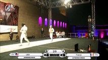 Fleuret Hommes, Finale du Caire, France / Etats-Unis 45-43