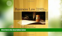 Big Deals  Business Law: Principles and Practices (Cengage Advantage Books)  Full Read Most Wanted