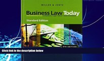 Books to Read  Business Law Today, Standard Edition (Available Titles CengageNOW)  Best Seller