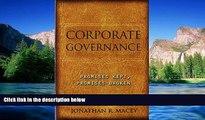 Must Have  Corporate Governance: Promises Kept, Promises Broken  READ Ebook Full Ebook