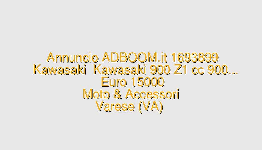 Kawasaki  Kawasaki 900 Z1 cc 900…