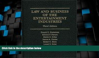 Big Deals  Law and Business of the Entertainment Industries, 3rd Edition (Law   Business of the