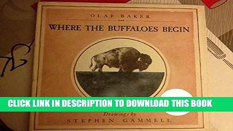 [EBOOK] DOWNLOAD Where The Buffaloes Begin PDF