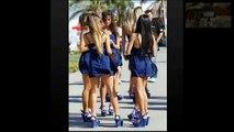 Beautiful Paddock Girls MotoGP Termas de Rio Hondo Circuit, Argentina