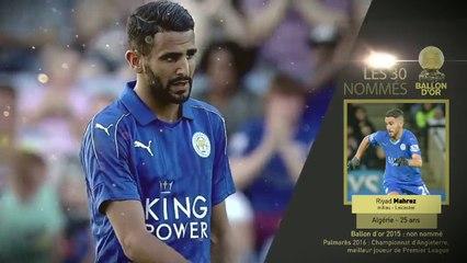 Les 30 nominés du Ballon d'Or: Riyad Mahrez – L'Equipe