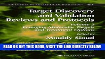 [PDF] FREE Target Discovery and Validation Reviews and Protocols: Emerging Molecular Targets and