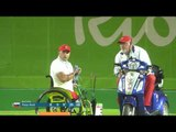 Men's Individual W1 semifinal   Drahoninsky v Herter   Rio 2016 Paralympics