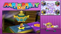 Mario Party DS - Story Mode - Part 17 - Kameks Library (1/2) (Wario) [NDS]
