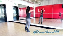 LOYAL - Chris Brown Dance TUTORIAL @MattSteffanina & @DanaAlexaNY Choreography (Hip Hop)