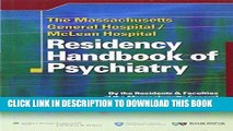 Best Seller The Massachusetts General Hospital/McLean Hospital Residency Handbook of Psychiatry