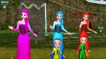 Frozen Elsa Dancing Colors Spiderman Olaf & SuperHeroes Elsa Baby Nursery Rhymes For Babies