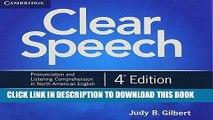 Download Clear Speech Class Audio CDs (3): Pronunciation and