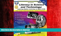 FAVORIT BOOK Literacy in Science and Technology, Grades 6 - 8: Learning Station Activities to Meet